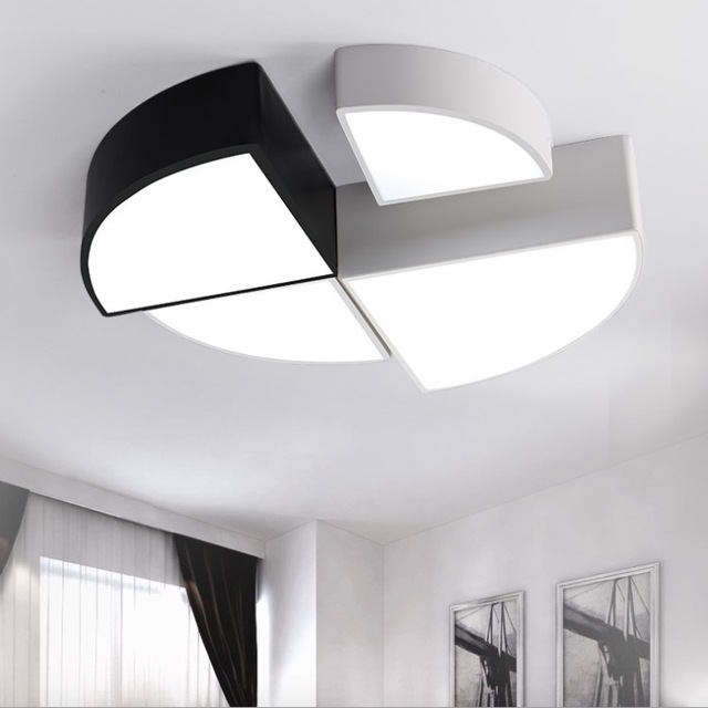 Design Led Lights For Living Room New House Decoration Lighting DIY  Combination Cube Fitting Surface Mount