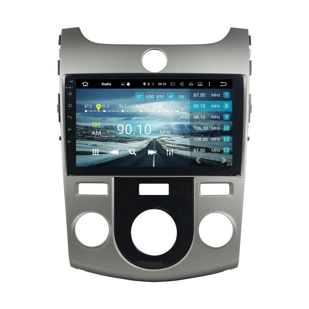 4GB RAM 9 Octa Core Android 6 0 Car Audio DVD Player for Kia Cerato Forte