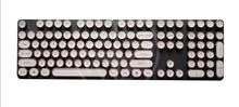 Ретро Круглый машинки колпачки для Игры Механическая клавиатура ABS Punk
