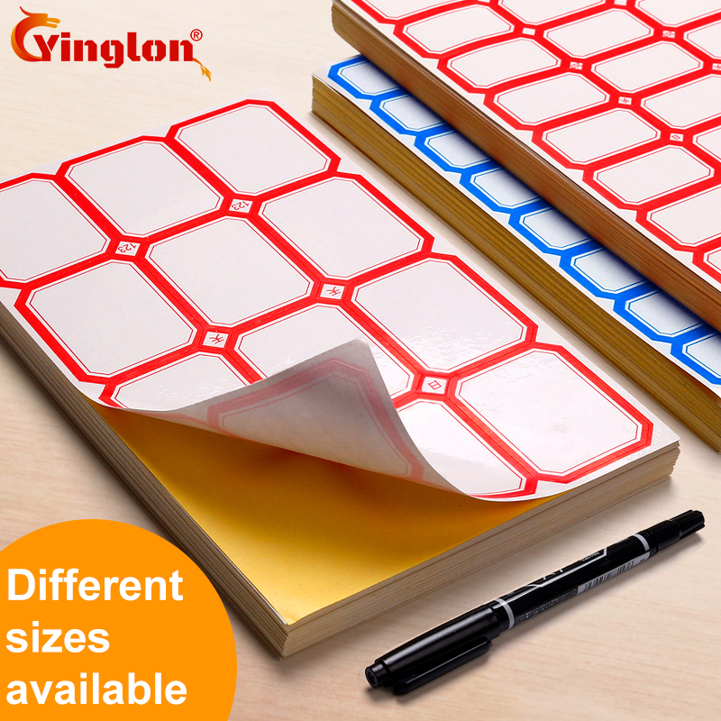 Labeling Sticker Packs Stationery Labels White Label Blank Stickers self adhesive handwriting mark note tag price sticker kicute 70sheets pack self adhesive blank label paper price sticker stationery mark sticker for office stores libraries supplies