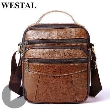 Genuine Leather Fashion Cross Body Crossbody For Men Shoulder Bag Messenger Handbag Briefcase Male Sac A Main Bolsas Product Hot