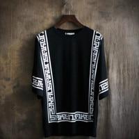 Mens T Shirts Fashion 2017 Summer Baseball Loose T shirt Men T Shirt Brand High Quality Led Tshirt Hip Hop Novelty T Shirt