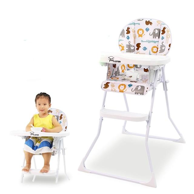 Lumiere Bebe Nourrir Chaise Multifonction Portable Plie Enfant A Manger Coussin Est Amovible Hauteur Reglable