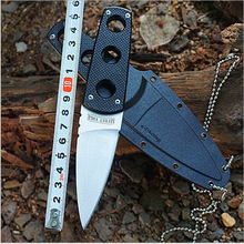 Hot Sale Survival Knives USA COLD STEEL Fixed Blade Knife G10 Handle Necklace Camping Hunting Tactical Knifes Outdoor Tools k91