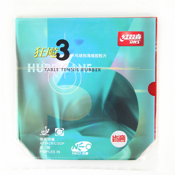 DHS Hurricane 3 Provincial NEO Table Tennis Rubber Original Pips-in DHS ping pong sponge dhs provincial hurricane 3 neo pro prov pips in table tennis rubber ping pong sponge tenis de mesa