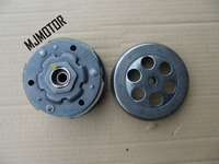 XH90 Rear Clutch Assembly For Chinese Scooter Yamaha 2stroke JOG 100cc Engine Lifan QJ 50 Keeway Spare Part