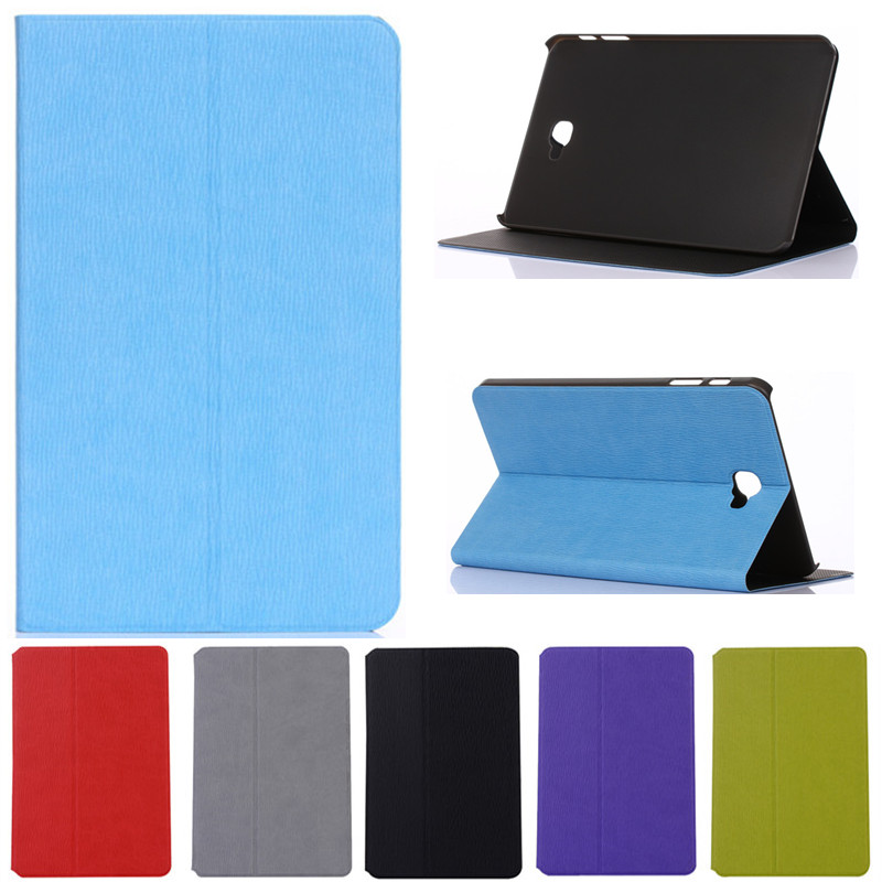 Book Leather Case Tablets Accessories Business Cover Fundas for Samsung Galaxy Tab A A6 10.1 2016 T585 T580 T580N Stand Cases