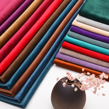 Thick high end luxury European style solid color dutch cashmere fabric bedroom curtains curtain mantle customize