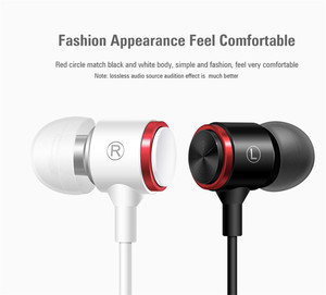 Image 4 - Проводные наушники с супербасами, спортивные металлические стереонаушники с микрофоном для Samsung, iPhone, Xiaomi