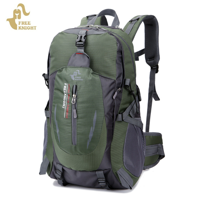 Free Knight Unisex 40L Outdoor Sport Backpack Travel Hiking Camping Backpack Waterproof Rucksack Light Hunting Trecking Mochila free knight hiking backpack 50l waterproof sports bag multifunctional outdoor bags camping hunting travel treck mochila backpack