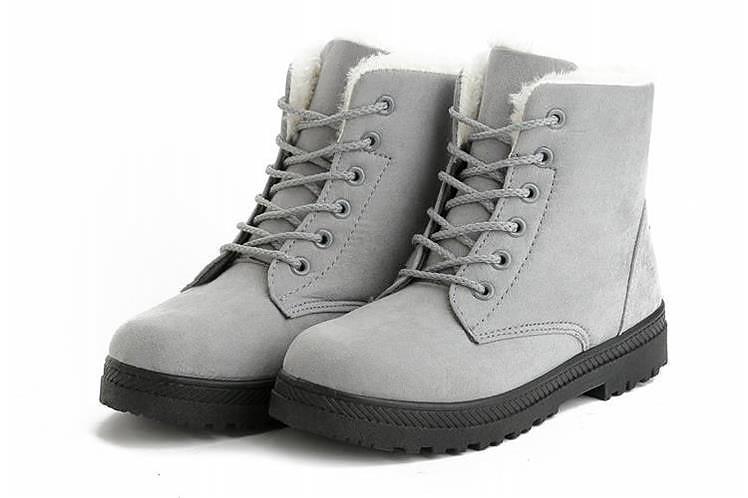 Women Shoes lace-up Winter Shoes 37