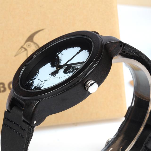Men's Genuine Leather Watch