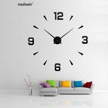 3d diy acryl spiegel horlogehot klok thuis clock2018new wandklok horloge klokken stickers woondecoratie woonkamer abstract