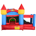 Yard nuevo combo castillo inflable gorila inflable de diapositivas casa puente moonwalk saltando con piscina de bolas