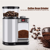 Electric Coffee Grinder Mill Herbs Nuts Salt Pepper Grinder Powerful Spice Seeds Manual Handmade Coffee Bean Home Kitchen Tool