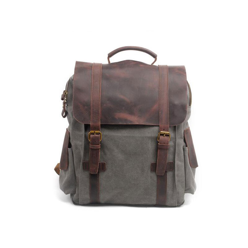 Backpack Vintage Canvas Backpack School Bag Travel Bags Large Backpack