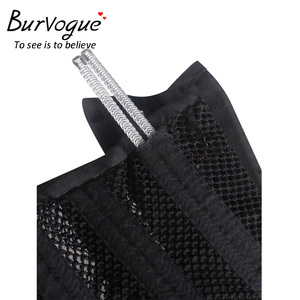 Image 3 - Burvogue Double Steel Boned Underbust Corset Breathable Waist Control Slimming Corset Sexy Lace Up Corset & Bustiers for Women