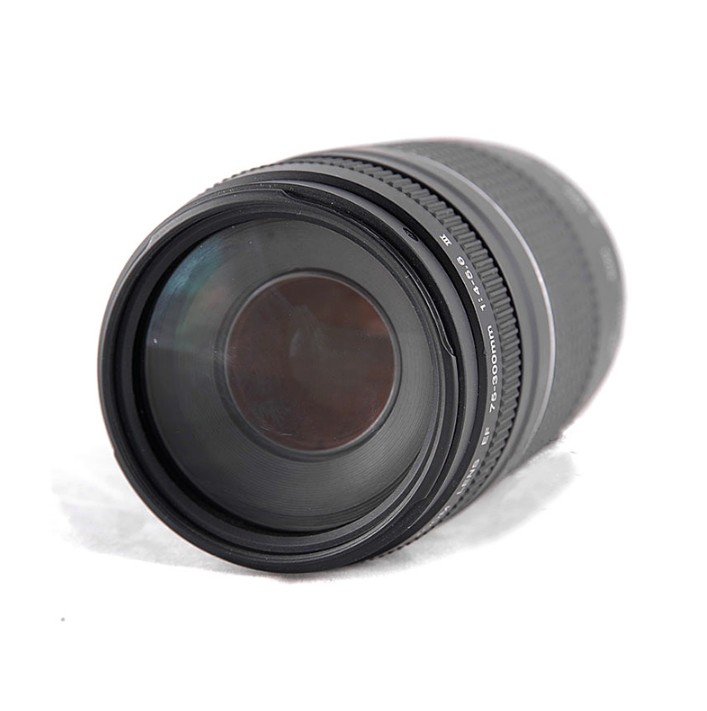 Pour objectif canon EF 75-300mm F/4-5.6 III Téléobjectifs pour Canon 1300D 650D 600D 700D 800D 60D 70D 80D 200D 7D T6 T3i T5i