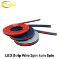 Lighting Wire 2pin 4pin 5pin for Single Color / RGB / RGBW LED Strip Connect.