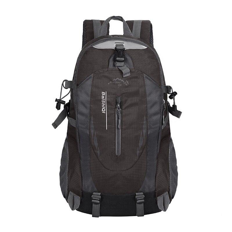 HEFLASHOR Waterproof Backpack Hiking Bag Cycling Rucksack Laptop Backpack Men Women Travel Outdoor Bag