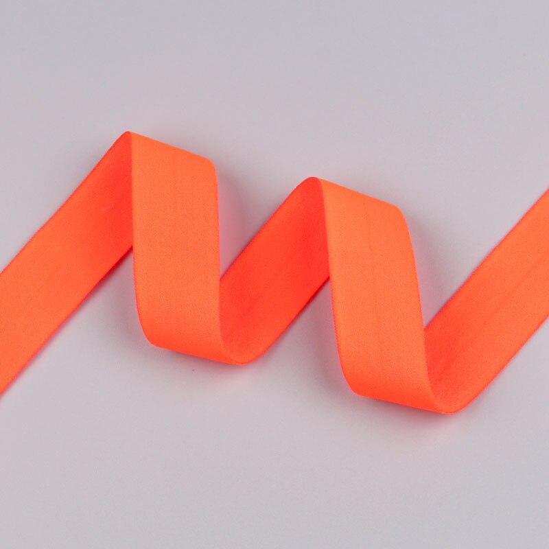 5 ярдов/Лот 20 мм ширина 34 цвета эластичная лента использование для diy аксессуары и одежда галстук лента для волос - Цвет: 21