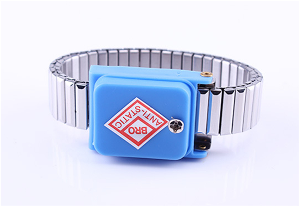 Back To Search Resultstools Hand & Power Tool Accessories Antistatic Wristband Esd Wrist Strap Blue Metal Discharge For Electrician Ic Plcc Worker Antistatic Bracelet Free Shipping Attractive Fashion