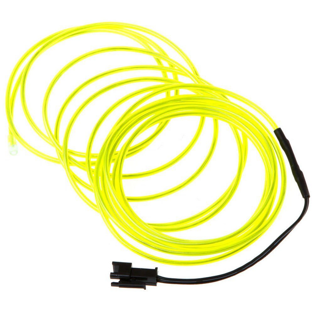 Top Neon Glowing Electroluminescent Wire We Take Customers As Our Gods bright Green,3m With Battery Pack Controller el Wire