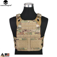 EMERSONGEAR JPC 2.0 Tactical Jumpable Plate Carrier Lightweight Vest Body Armor Combat Hunting Molle Vest Multicam EM7436