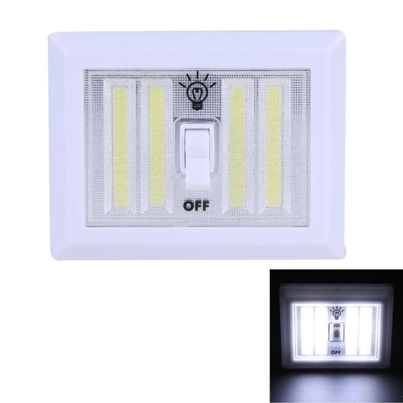 8W Wall Switch Night Light Corridor LED Lamp Emergency