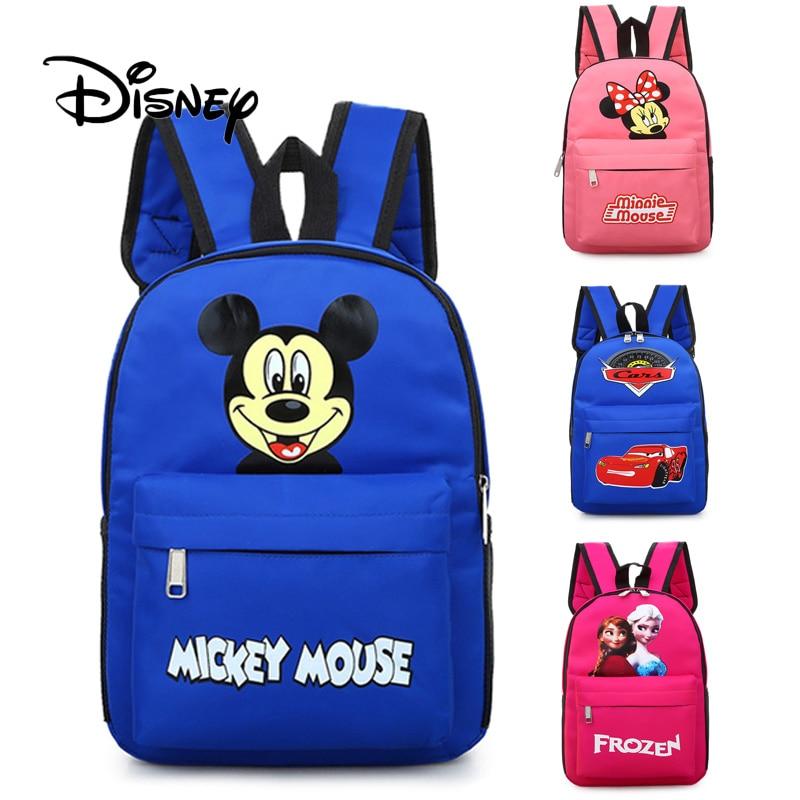 Toys & Hobbies Learned 2019 New Cartoon Disney Baby Mickey 3d Bag Schoolbags Children Kids Cute Plush School Student Backpack Girl Boys Schoolbag Gift