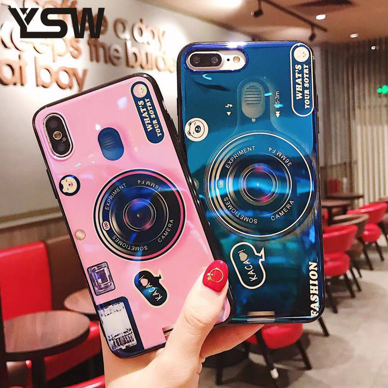 YSW For Huawei <font><b>Honor</b></font> 7X <font><b>Honor</b></font> <font><b>9</b></font> <font><b>Lite</b></font> <font><b>Honor</b></font> 10 <font><b>Case</b></font> <font><b>Blue</b></font> Light Camera Printed Cover For Huawei P20 <font><b>Lite</b></font> P20 Pro Mate 10 Pro <font><b>Case</b></font> image