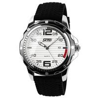 Skmei marca relógios de quartzo men casual calendário data trabalho relógio para homem relógio 30 m à prova dwaterproof água relógio de pulso relogio masculino