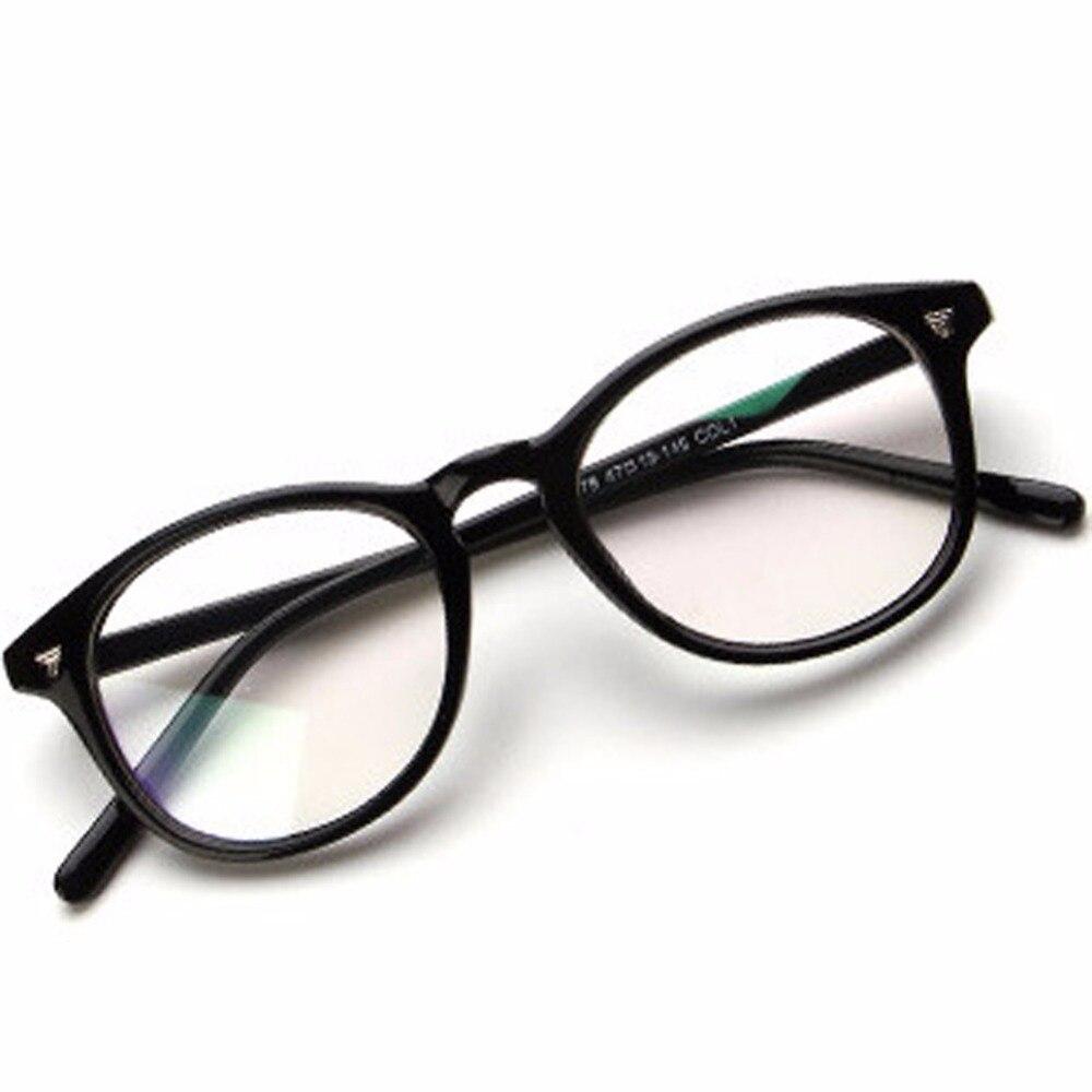 a54452dd692d3 Compre Clássico Das Mulheres Rodada Óculos De Armação De Marca ...
