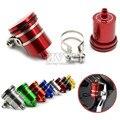 universal motorcycle aluminium rear brake pump fluid tank RESERVOIR For suzuki GSXR1000 GSXR600 GSXR750 GSXR yamaha YZF R125 R15