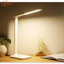 Lampy stołowe USB lampy stołowe plastikowe do salonu nowoczesne łóżka led darmowe przyciemnianie nauka ochrona oczu dotykowy włącznik/wyłącznik