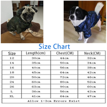 BENMEI Waterproof  Raincoat For Big Dogs Camouflage