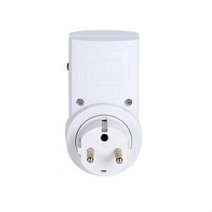 Image 4 - Universal French Standard AC220V Power Socket Plug 433mhz RF Wireless Remote Control Socket Outlet Compatible Broadlink RM4 pro