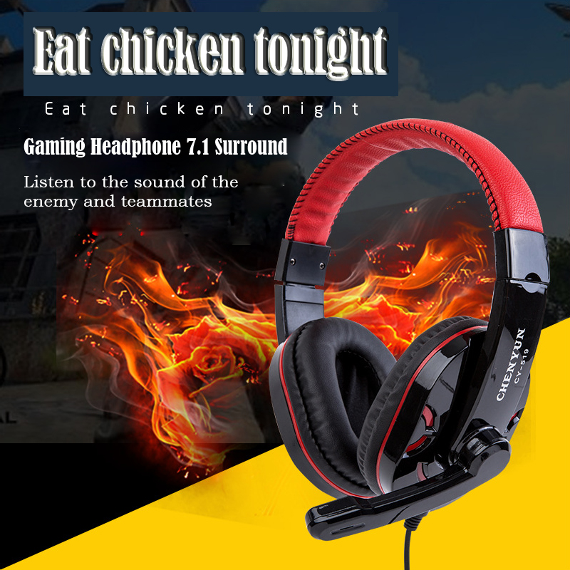 Gaming Headset Deep Bass Stereo Computer Game Headphones with microphone PC professional Gamer For Headphone Gamer Fast Shipping 3 5mm universal gaming over ear headset earphones computer game headphones with microphone for gamer stereo bass for computer pc