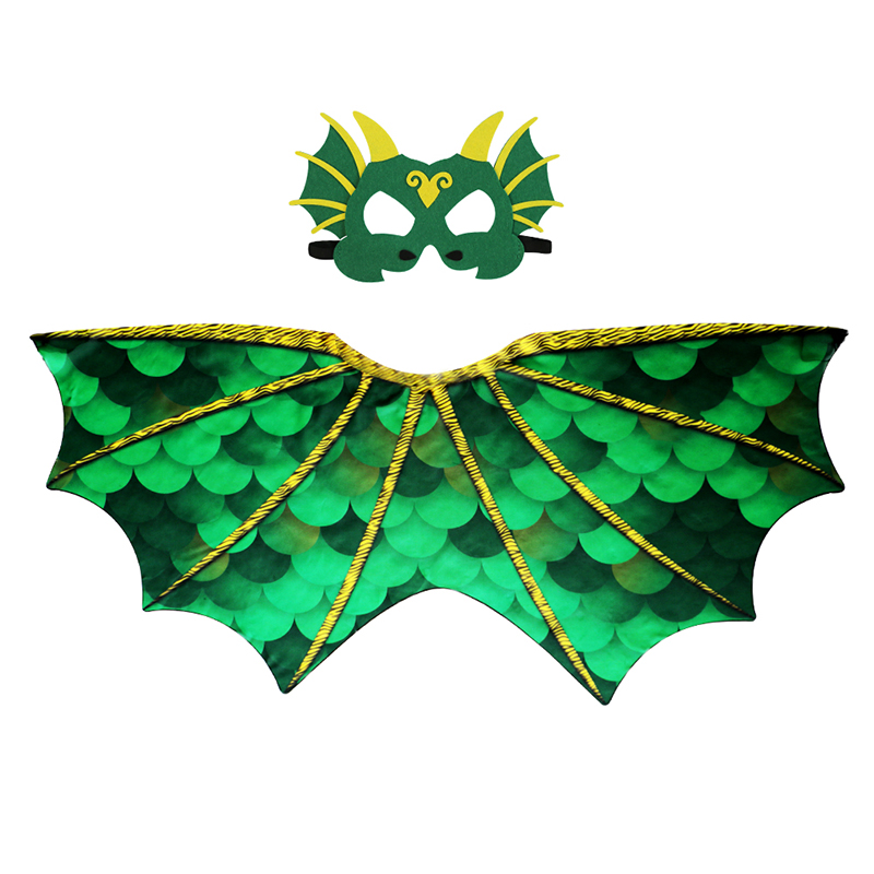 3-7 Y.O SPECIAL Dinosaur Wings Mask For Party Costumes For Kids Boys Dinosaur Children Costume Girl Animal Costume Cosplay