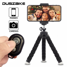 цена DUSZAKE Camera Mini Tripod For Phone Stand Metal Ball Head Gorillapod For iPhone Tripod For Phone Mini Tripod For Mobile Camera онлайн в 2017 году
