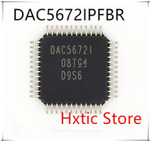 NEW 1PCS/LOT  DAC5672IPFBR DAC5672IPFB DAC5672I DAC5672 QFP48