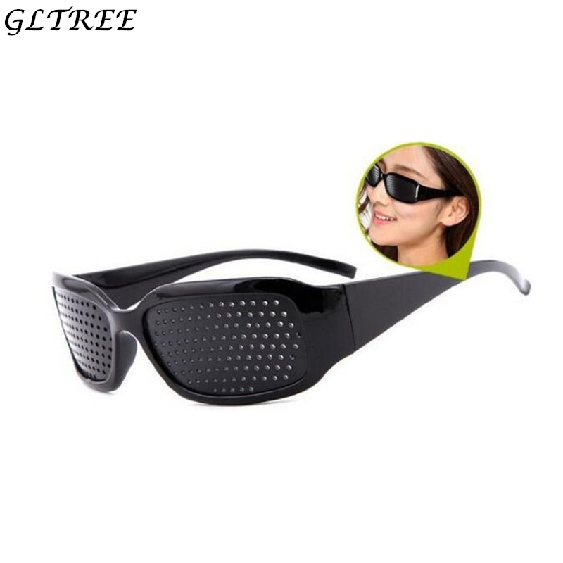 GLTREE 2018 Pin Hole Sunglasses Women Anti Myopia Anti