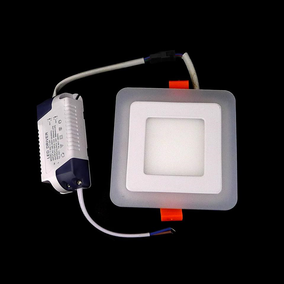 Dual Color Panel Downlight 5