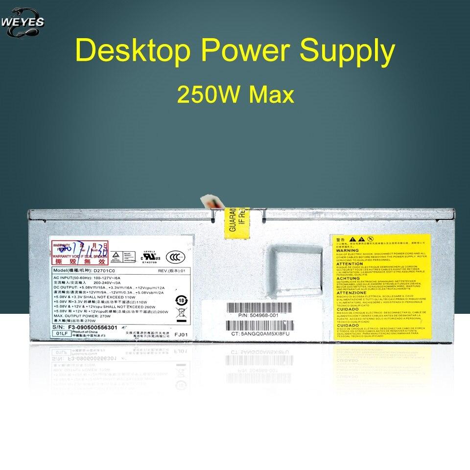 504968-001 pour S5000 PC8044 220 W alimentation d'origine