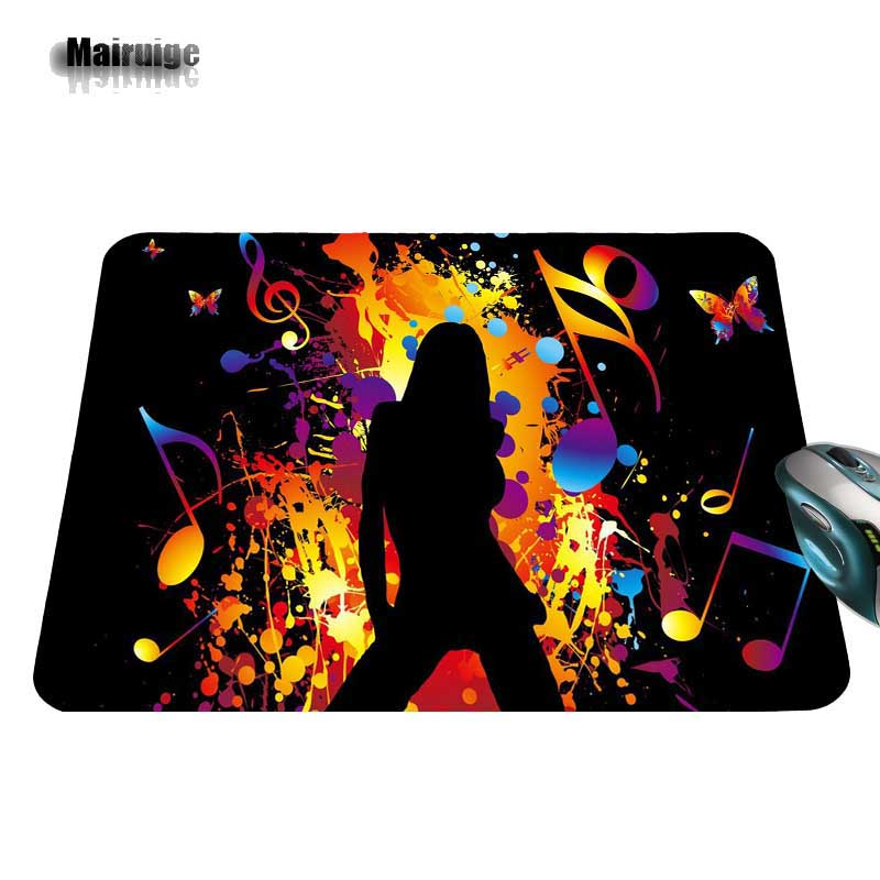 Top Quality Customized Music Party Game font b Gaming b font Durable DJ Black Mouse Mat