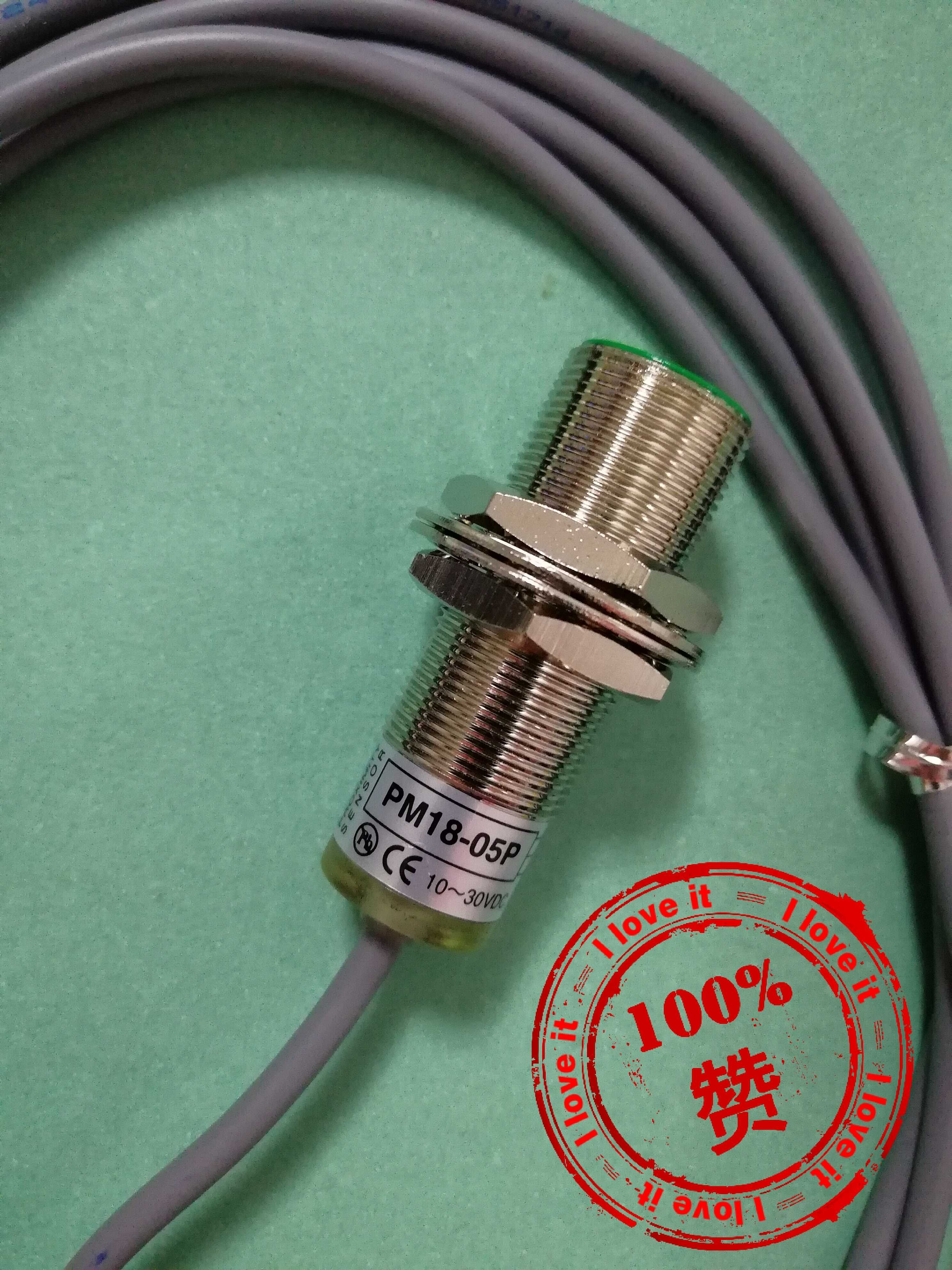 New Imported PM18-05PPNP Taiwanese Yangming Proximity Switch Sensor Embedded PM