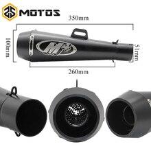 ZS MOTOS 51mm Universal Motorcycle Exhaust M4 Yoshimura Muffler Pipe Case for Honda CBR1000 Yamaha R6 for Kawasaki M4 Exhaust