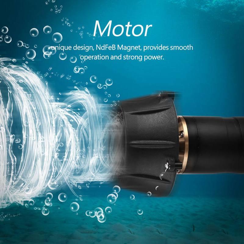 MI50 sous-marine 200 m 5 kg propulseur azimutal POD ROV sous-marin RC bateaux anti-corrosion 6 S 24 V 360 W 5 KG poussée BLDC moteur sans balai