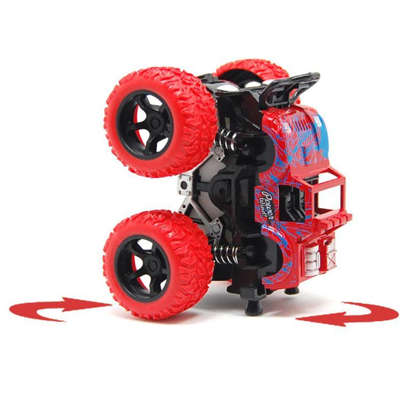 1 unidad de juguetes para vehículos de bebé a prueba de golpes inercial vehículo todoterreno de cuatro ruedas Para Mitsubishi Outlander 2013 2015 2016 2017 2018 Exterior modificado especial 3D 4WD letras pegatinas de cuatro ruedas