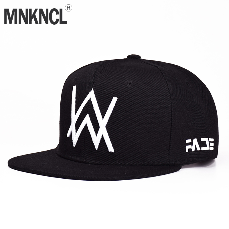 2017 New Alan Walker DJ Baseball Cap Alan Walker With The Return Of Men And Women Hip-hop Hats Bone Snapback Cap alan walker
